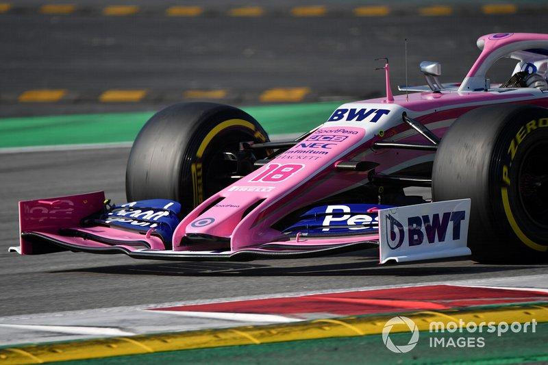 Ніс та переднє антикрило Racing Point F1 Team RP19