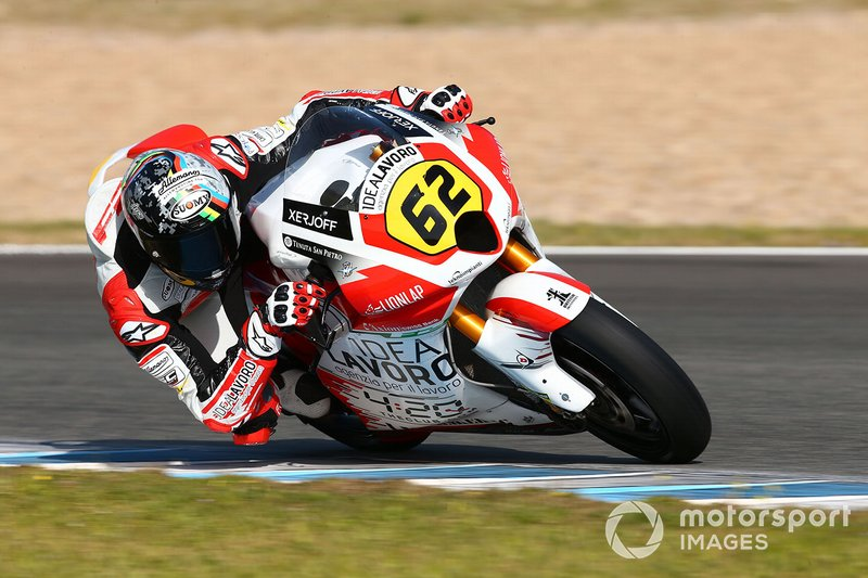 #62 Stefano Manzi, MV Agusta Temporary Forward