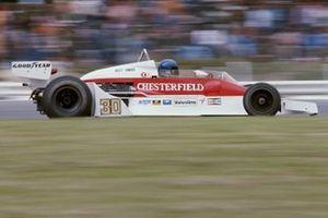 Brett Lunger, McLaren M26 Ford