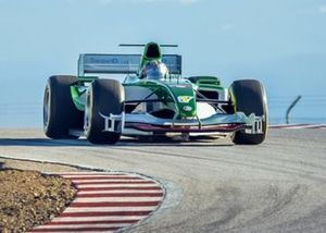 L'ancienne Jaguar F1 de Mark Webber