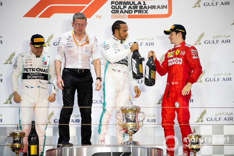 GP do Bahrein: Lewis Hamilton, Mercedes