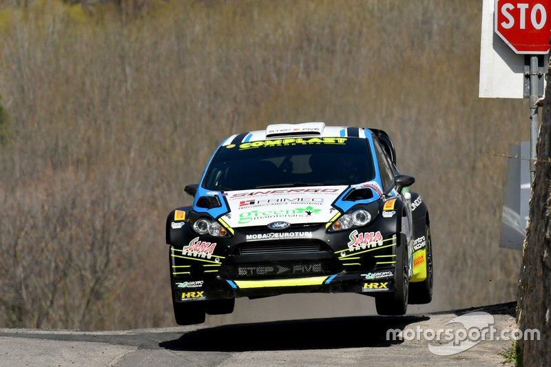 Marco Signor, Patrick Bernardi, Ford Fiesta WRC, Sama Racing