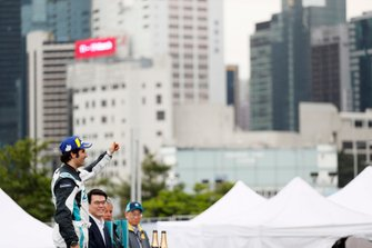 Sérgio Jimenez, Jaguar Brazil Racing celebrates 3rd position on the podium in the PRO class