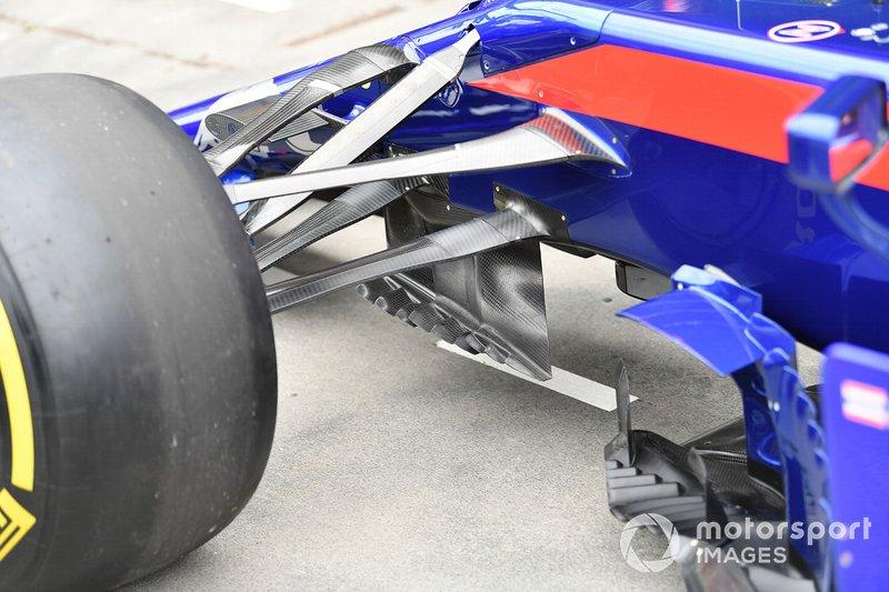 Toro Rosso STR14: Aufhängung vorne