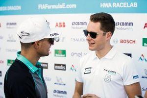 Stoffel Vandoorne, HWA Racelab, talks Mitch Evans, Panasonic Jaguar Racing