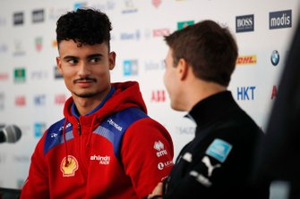 Pascal Wehrlein, Mahindra Racing with Antonio Felix da Costa, BMW I Andretti Motorsports in the press conference