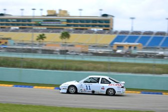 #11 MP4A Acura Integra driven by Herbert Gomez & Jim Dentici of King Motorsports