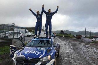 Lukasz Habaj, Daniel Dimurskiy, Sports Racing Technologies, Skoda Fabia R5