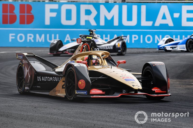 Jean-Eric Vergne, DS TECHEETAH, DS E-Tense FE19, Oliver Rowland, Nissan e.Dams, Nissan IMO1