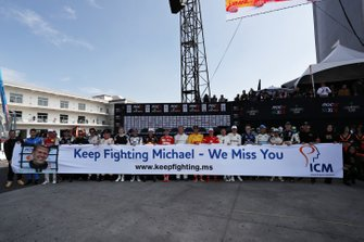 Eerbetoon aan Michael Schumacher