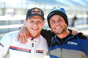 Stefan Bradl, Honda WSBK Team , Sandro Cortese, GRT Yamaha WorldSBK Team