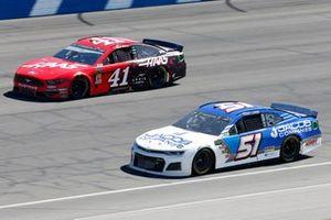 Cody Ware, Petty Ware Racing, Chevrolet Camaro Jacob Companies Daniel Suarez, Stewart-Haas Racing, Ford Mustang Haas Automation