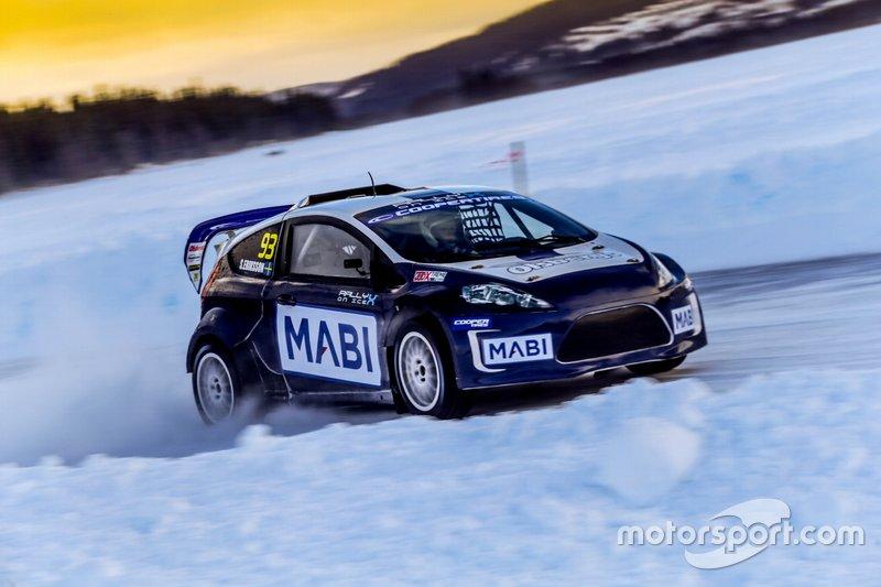 Sebastian Eriksson, RallyX on Ice, Supercar Lites