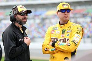 Kyle Busch, Joe Gibbs Racing, Toyota Camry M&M's Chocolate Bar Adam Stevens