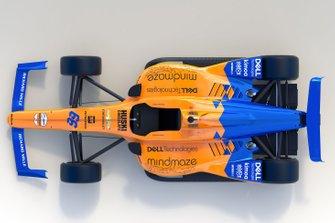 Ливрея автомобиля McLaren Фернандо Алонсо для Indy 500