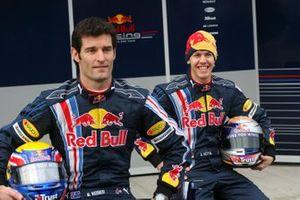Марк Уэббер и Себастьян Феттель, Red Bull Racing