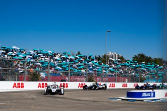 Maximilian Günther, Dragon Racing, Penske EV-3 Oliver Rowland, Nissan e.Dams, Nissan IMO1, Robin Frijns, Envision Virgin Racing, Audi e-tron FE05
