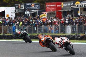 Franco Morbidelli, Petronas Yamaha SRT, Pol Espargaro, Red Bull KTM Factory Racing, Johann Zarco, Team LCR Hondai