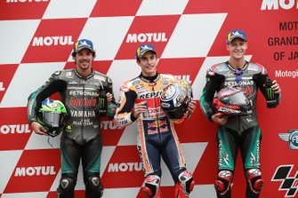 Pole position pour Marc Marquez, Repsol Honda Team, devant Franco Morbidelli, Petronas Yamaha SRT, et Fabio Quartararo, Petronas Yamaha SRT