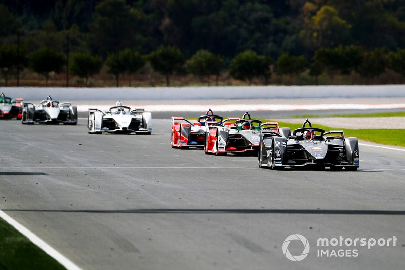 Sébastien Buemi, Nissan e.Dams, Nissan IMO2 Daniel Abt, Audi Sport ABT Schaeffler, Audi e-tron FE06, Pascal Wehrlein, Mahindra Racing, M6Electro