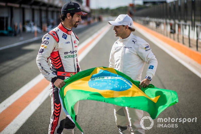Brazilian Lucas Di Grassi, Audi Sport ABT Schaeffler, Felipe Massa, Venturi Formula E