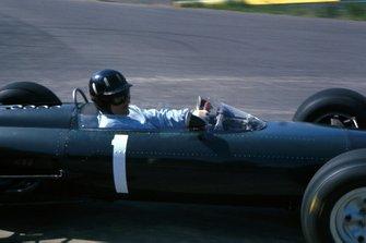 Graham Hill, BRM P261, al GP del Belgio del 1964