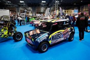 Un coche en el Autosport show
