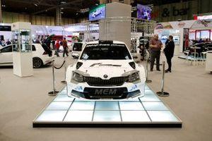 Un Skoda RS rally car