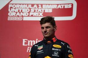 Max Verstappen, Red Bull Racing, 3e plaats, op het podium