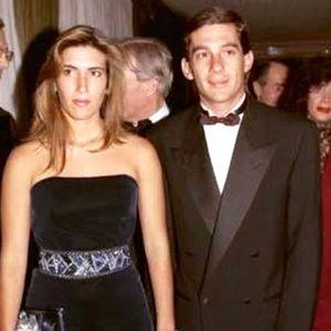 Ayrton Senna y Adriane Yamin