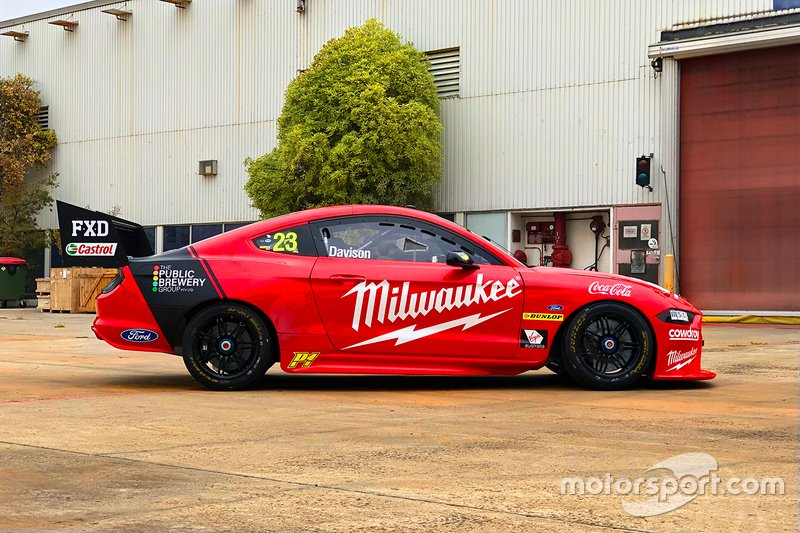 Will Davison's Ford Mustang 2020