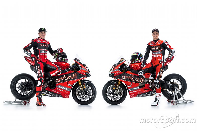 Scott Redding et Chaz Davies, Aruba.it Racing Ducati