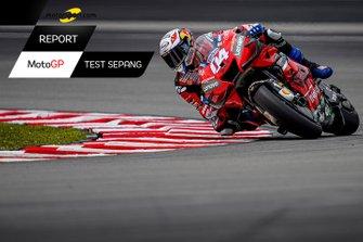 Copertina Report MotoGP, Test di Febbraio a Sepang