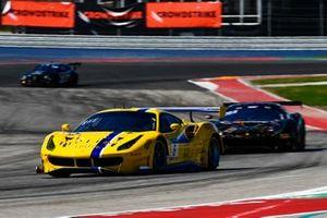 #6 GT3 Am, Vital Speed, Richard Baek, Mark Issa, Ferrari 488 GT3