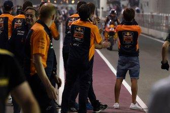Team Red Bull KTM Ajo celebrate