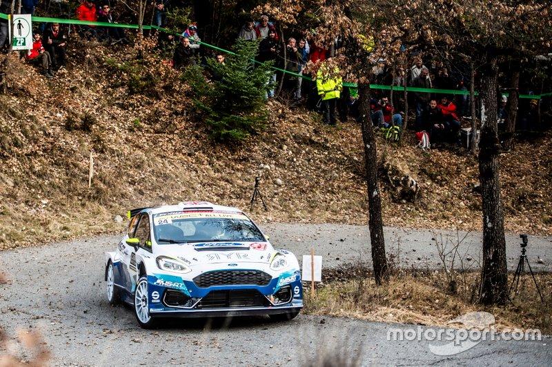 Rhys Yates, James Morgan, M-Sport Ford WRT Ford Fiesta R5