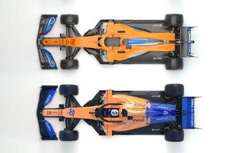 Confronto McLaren MCL34/MCL35