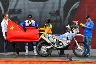 Закер Якп, Wu Pu Da Hai Dao Dakar Rally Team, KTM 450 Rally (№134)