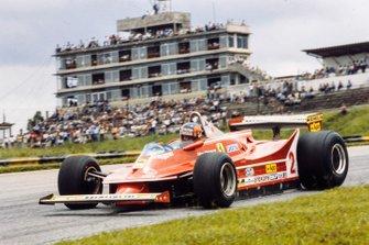 Gilles Villeneuve, Ferrari, al GP del Brasile del 1980