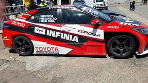 Carro da Toyota Gazoo Racing na TC 2000