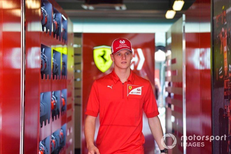 Mick Schumacher, pilota della Ferrari Driver Academy