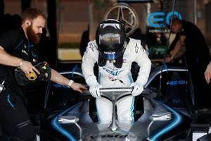 Jake Hughes, Rookie Test Driver for Mercedes Benz EQ