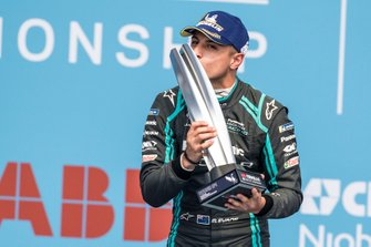 Podium: winner Mitch Evans, Jaguar Racing