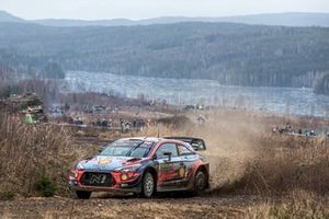 Отт Тянак и Мартин Ярвеоя, Hyundai Shell Mobis WRT, Hyundai i20 Coupe WRC