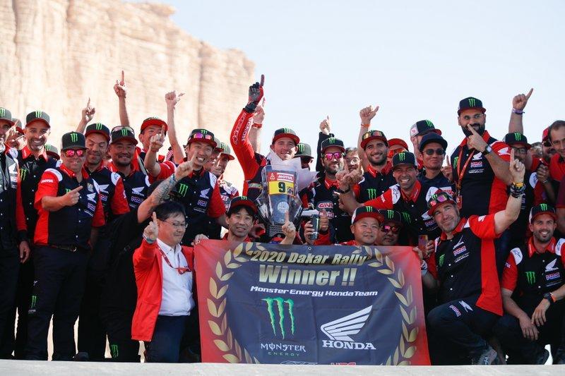 Winner #9 Monster Energy Honda Team: Ricky Brabec