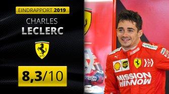 Eindrapport 2019 Charles Leclerc, Ferrari