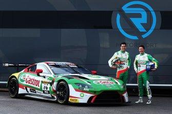 #76 R-Motorsport Aston Martin Vantage GT3: Rick Kelly, Scott Dixon