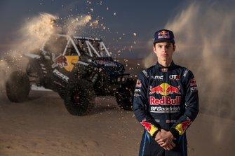 Seth Quintero, miembro del equipo Red Bull Off-Road Junior