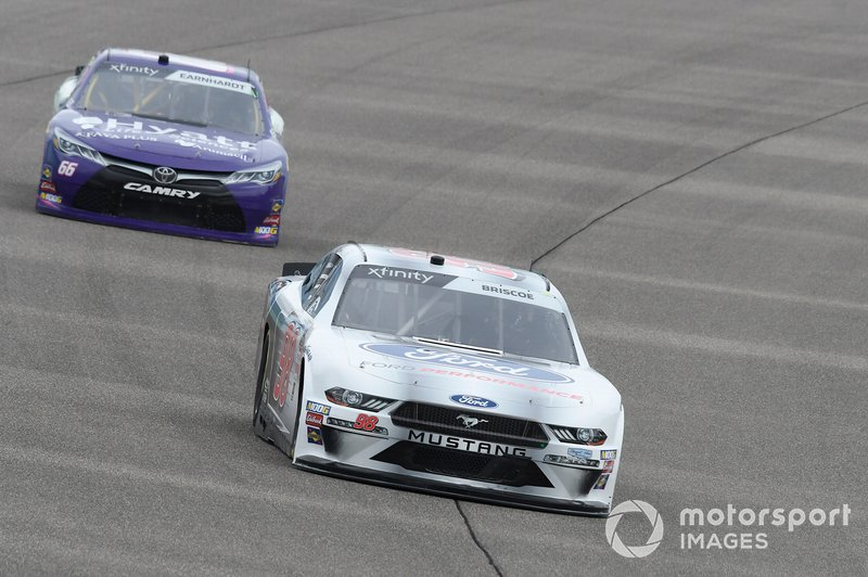 Chase Briscoe, Stewart-Haas Racing, Ford Mustang Ford Performance, Bobby Earnhardt, Motorsports Business Management, Toyota Supra Hyatt Life Sciences