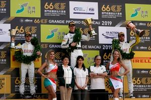 Podio: ganador de la carrera #999 Mercedes-AMG Team GruppeM Racing Mercedes AMG GT3: Raffaele Marciello, segundo #99 ROWE Racing Porsche 911 GT3 R: Laurens Vanthoor, tercero #98 ROWE Racing Porsche 911 GT3 R: Earl Bamber